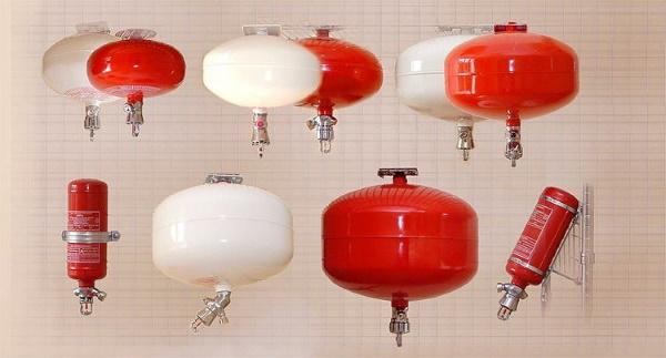 Системы пожаротушения, виды и описание