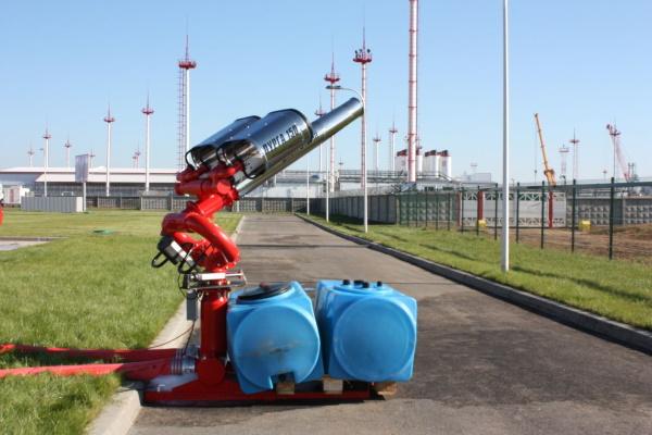 Пожаротушение эстакады, система защиты от огня