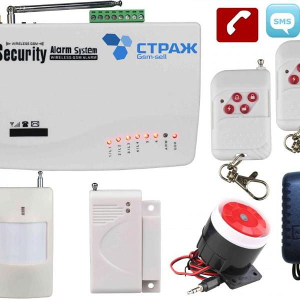 Беспроводная система охранной сигнализации, в вашем смартфоне