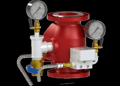 Спринклерная система пожаротушения, или дренчерная?