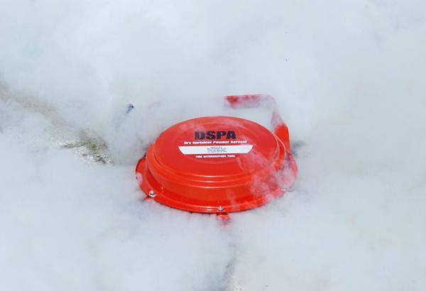 Пожаротушение в вентиляционных камерах