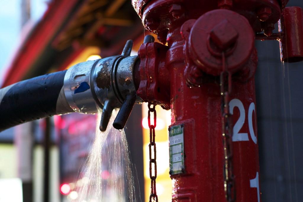 Как обнаружить течь в трубопроводе пожаротушения