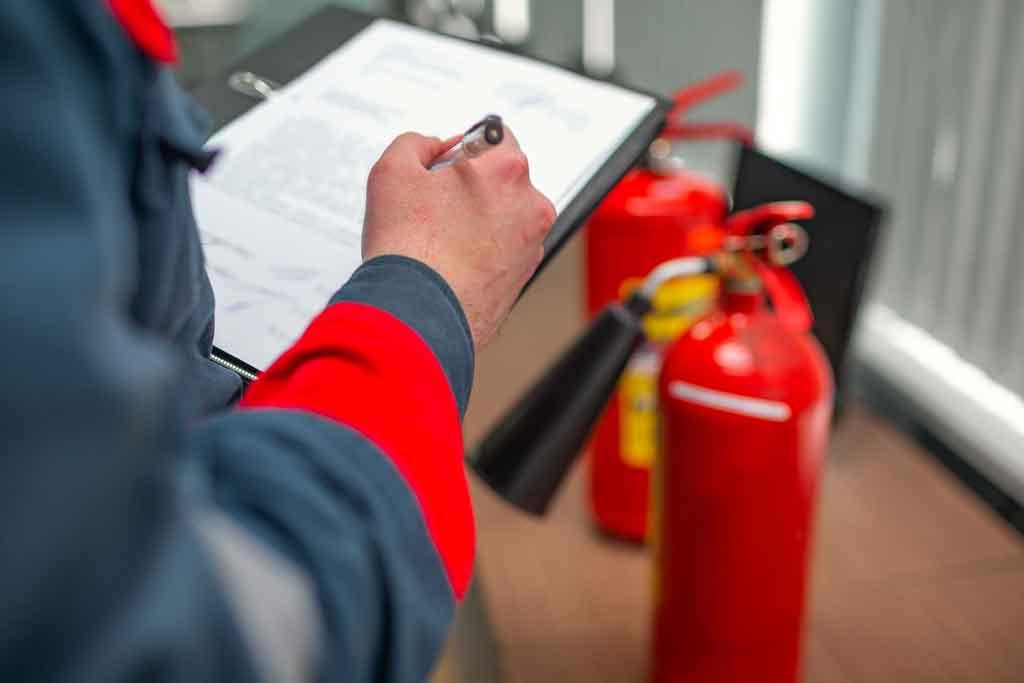 Противопожарный инструктаж на рабочем месте