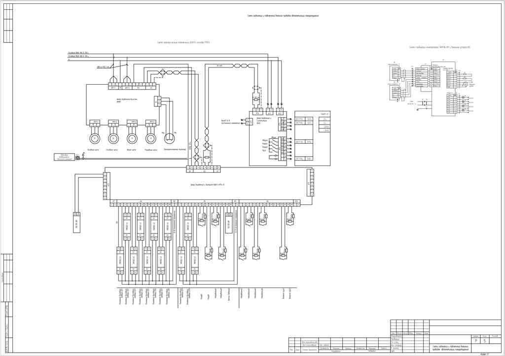 Проект автоматизации электрозадвижки и насосной пожаротушения