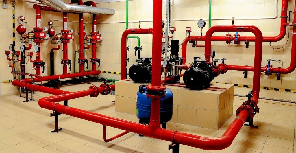 система пожарного водоснабжения
