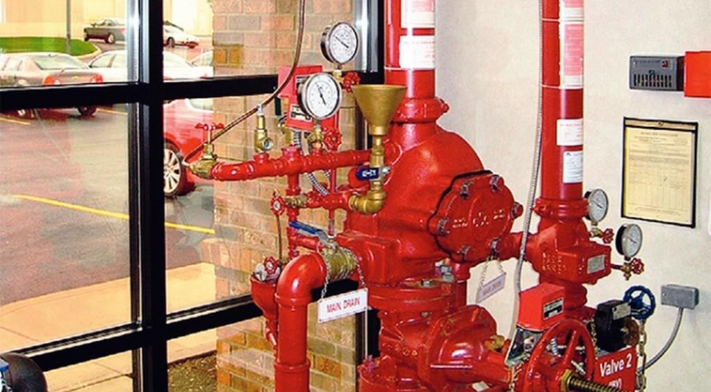 система пожарного воднабжения