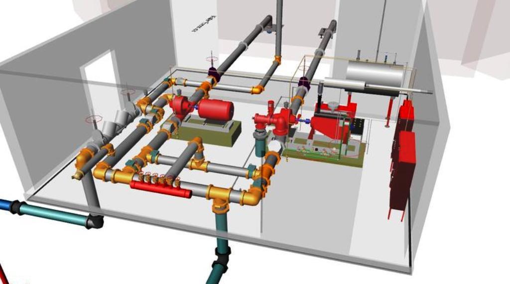 проект системы водяного автоматического пожаротушения