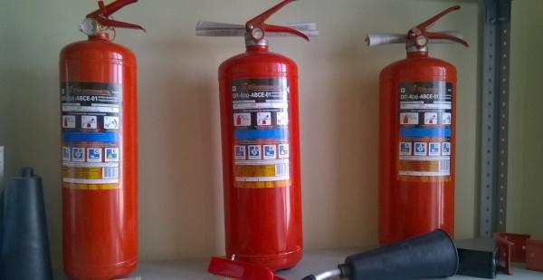 Расчет огнетушителей