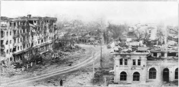Вечная память солдатам и офицерам Российской армии, погибшим на улицах Грозного