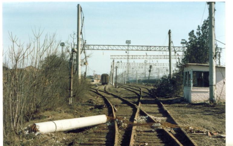 7-я рота в обороне железнодорожного вокзала